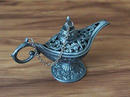 Wholesale Antique Arts Craft Aladdin Lamp Home Decoration SMALL Size from Arabian Nights Story Vintage Home Decoration