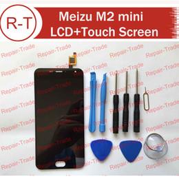 Wholesale-Meizu M2 mini LCD Screen Original HD 5.0inch lcd display+touch Screen Panel Replacement For MTK6735 Meizu M2 mini Cellphone