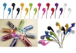 Gumy HA-F150 Earphone Stereo in ear Headphones For iphone ipad ipod Cellphones Candy Colors Earphones by DHL