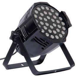 Free shipping 36X3W Cast aluminium White or Black RGB Stage Lighting Indoor LED Par Light LED Par Can