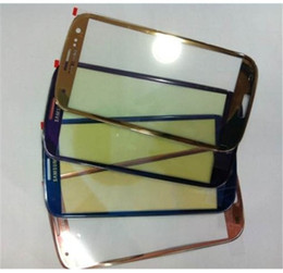 Free shipping 20pcs lot New Black WhiteTouch Screen Outer Glass Lens For Samsung Galaxy S3 i9300 i535 L710 i747