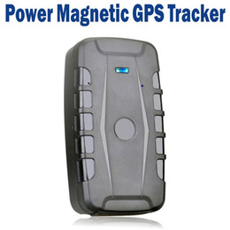 Wholesale 10000mAh Battery Magnetic GSM GPRS GPS Tracker For Car Vehicle Pet APP Real Time Tracking Waterproof Rastreador Localizador