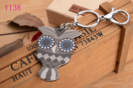 2016 OWL head Silicon Key Caps Covers Keys Keychain Case Shell Novelty Item Key Accessories Car Keychain Ring