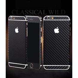 Compra Online Envío libre del iphone de la manzana-La fibra de carbono protector de la pantalla, gota a prueba de HD Clear balísticas completas Etiquetas engomadas del cuerpo para el iPhone 5S 6 4.7 '' 6 Plus protector de la pantalla del envío libre