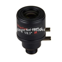 Wholesale 5 Megpixel quot Varifocal HD CCTV Camera Lens mm M12 Mount With auto DC iris F1 For MP IP Camera