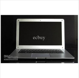 Wholesale 14 inch Laptops Notebook Intel Dual Core HDMI laptops D2500 Win Seven GB GB G G Cheap Mini laptop Computer PC