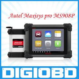 Wholesale Autel Maxisys Pro MS908P automotive diagnostic and analysis system with WiFi includes the J reprogramming box online programming DS708