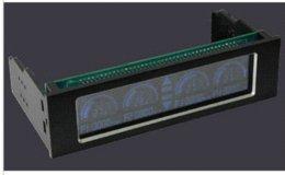 Wholesale 2015 quot Touch Screen Front Panel Four Ways PC Temperature Fan Controller Auto auto gate control