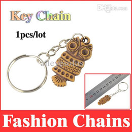 Wholesale-owl key chain llaveros animals keychain fashion ring gifts keyring holder chains trinket MT01