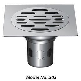 Wholesale China manufacture OEM new design stainless steel floor drain cover square drainage cover for bathroom model no A