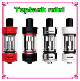 Toptank Mini Atomizer 4.0ml Kanger Single Toptank Mini Atomizer Top Refilling Sub Ohm Tank with Delrin Drip Tip Subtanks VS i stick pico 75w