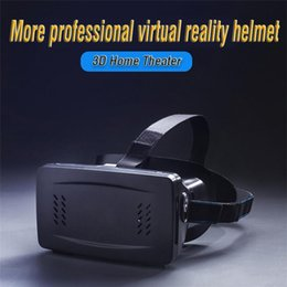 Wholesale rRIEM VR Headset D glasses Virtual Reality Glasses High Quality for VR Game And VR Movie Magnet Control Google Cardboard for Phone