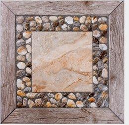 Wholesale Ceramic tile is pebbles archaize brick floor tile balcony gardens Prevent slippery floor tile