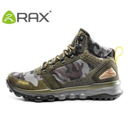 Wholesale-RAX Winter Warm Hiking Boots Outdoor Sports Shoes Men Boots Rubebr Outsole Breathable Walking Fashion Men Shoes Hiking Shoes