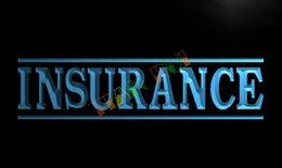Wholesale LB341 TM Insurance Services Neon Light Sign Advertising led panel jpg