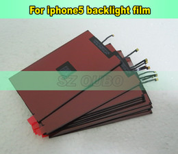 Replacement Repair Part Parts LCD Display Backlight Film back light For iPhone 5 LCD refurbishment DHL free shipping