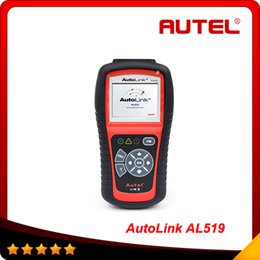 Wholesale New designed Original Autel AutoLink AL519 OBDII EOBD CAN Scan Tool Support Online Update