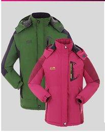 Wholesale The new popular outdoor ski wear male cotton padded jacket wind proof waterproof warm hooded mountaineering wear washer velvet thickening c