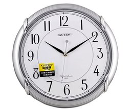 Wholesale GUTEN Admiralty Po advanced ultra quiet wall clock high sense of flow lines texture fashion clock GD235