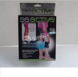 Wholesale Beactive Pressure Point Brace For Back Pain Therapeutic Unisex Left Right Knee Pads Supports Leg Be Active Factory Direct Free DHL
