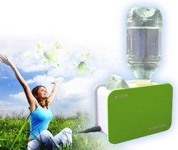 Wholesale Magic Mini Water Bottle Auto Shut Off Ultrasonic Air Humidifier Steam Aroma Diffuser Mist Maker for Travel Office Purifier