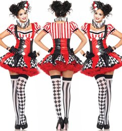 2015 Halloween costumes sales Clown role playing Theme Costume Role play animated cartoon Costumes & Cosplay top quality Apparel