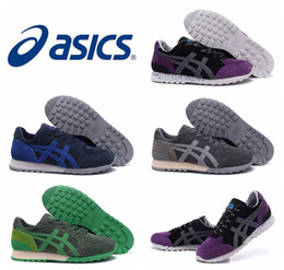 Wholesale 2016 New Design Asics Onitsuka Tiger Running Shoes For Men Fashionable Lightweight Lightweight Top Quality Athletic Sport Sneakers