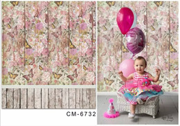 5X7FT Butterflies Wall Baby Photos Background For Studio Photography Vinyl Backdrop Computer Printed Digital Computer Printed Backgrounds