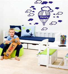 Custom Kids Name Vinyl Wall Sticker Personalized wall stickers