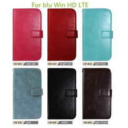 Wholesale Top fashion Flip Wallet Leather Case Cover Photo Frame Card Slots For blu dash J D070U advance inch Win HD LTE