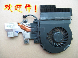 Ordinateur portable hp i7 en Ligne-Ventilateur d'ordinateur portable d'origine avec dissipateur pour HP 2540P radiateur ventilateur I7 I5 I3 598788-001 598789-001