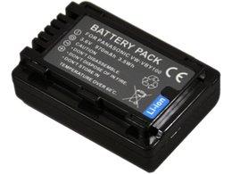Wholesale Battery Pack for Panasonic VW VBY100 VW VBY100 VW VBY100E K and HC V130 HC V130K HC V201 HC V201K HC V110 HC V110K Camcorder