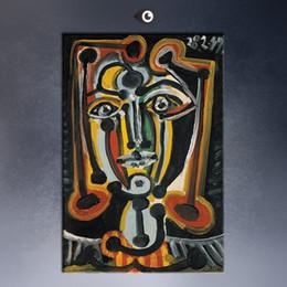 Wholesale Envío gratis Pablo Picasso DORA MAAR Inmobiliaria numerada Pequeño Giclee Abstract Canvas Prints