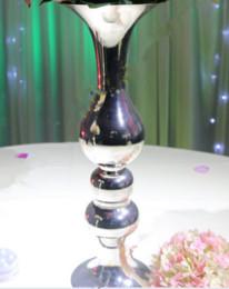 wedding decoration vase centerpiece , metal flower stand centerpieces