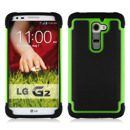 Wholesale BB Hybrid Rugged Rubber Matte Hard Case Cover Skin For Android Phone LG G2