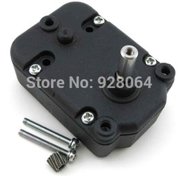 Wholesale Hot Sale Metal gear box deceleration electrical chassis remote control car renovation motor gearboxes DIY model accessories