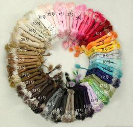 2017 New Hot selling ~Rabbit fur gloves rabbit hair FINGERLESS GLOVE gloves Xmas Rabbit Fur HAND