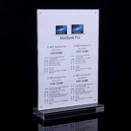 Wholesale pack industry business service equipment advertising equipment advertising boards A4 acrylic holder