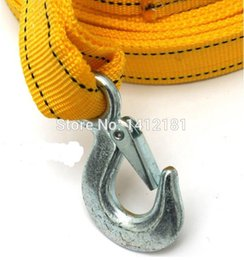 Wholesale High Quality Outdoor Travel off road auto meters car towing ropes trailer belt pulling rope hook Hammock Strapping Tape