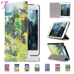Wholesale Smart Cover Table Holder - iPad mini4 Smart Cover PU Leather Case Cover Sleep work with Stand Holder Protection Table PC For mini 4