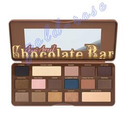 Wholesale Hot new Makeup Eye Shadow semi sweet Chocolate Bar Color Eye Shadow plates High quality DHL GIFT