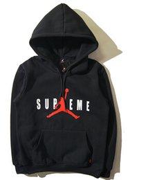 Wholesale hoodie men High quality jordan hoodie Sweatshirt hip hop men s sport thick hooded fashion men sportswear jackets
