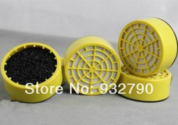 Wholesale Survival Emergency Anti Poisonous Gas Masks Filter Cartridge Activated Carbon Filter Layer Cartridges Box order lt no track