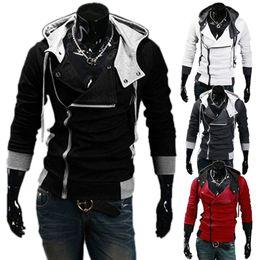 Wholesale Assassin Creed Desmond Miles Coat Top Jacket Coat Assassins Creed Cosplay Coold Slim Men s Cosplay