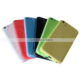 Wholesale New Original iPhone C Back Cover Housing Replacement Green Yellow Blue Pink White Green Black Battery Door Cover Housing