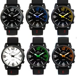 Wholesale Newest Racing Men Sports Watches Luxury Touring GT Silicone Men Quartz Military Watch