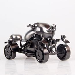 Wholesale Manufacturers selling iron Home Furnishing decoration model ATV Motorcycle