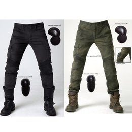 Wholesale Newest uglybros MOTORPOOL UBS06 Jeans Wind motorcycle riding jeans with protective gear size