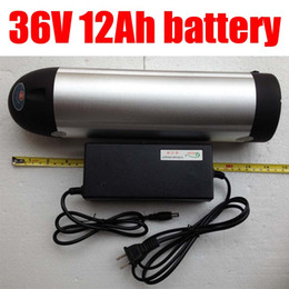Wholesale Best price high capacity Volt Lithium ion Battery Ah for Electric Bike Bicycle with bottle aluminum case cell A BMS