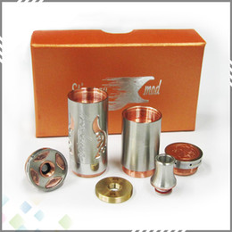 Wholesale New Arrival Stingray X Mod SS Rda Ecigs Full Mechanical Stingray X Mod Clone Copper with thread DHL Free